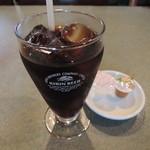 百帝園 - ランチ定食のアイスコーヒー