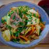 ジュネ - 料理写真:豚キムチそば 600円