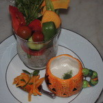 スイーツアトリエ アンジュジュメール - 季節の野菜のバーニャカウダー
