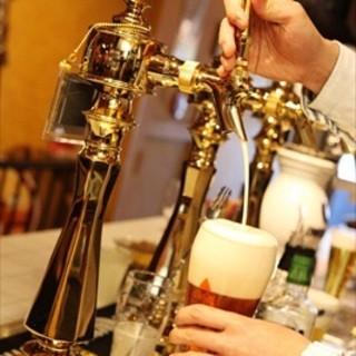 世界のビール!日本のクラフトビール!合わせて8tap