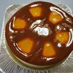 スイス菓子 ローヌ - 買って来たホールのチーズケーキ@1,600