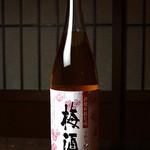だんだん茶屋 - 梅酒 580円