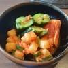 炭火焼肉やまと - 料理写真:キムチの盛り合わせ