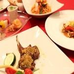 アル マンドリーノ - 季節のディナーコース料理