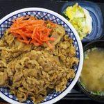 Yoshinoya - 牛丼特盛Bセットをいただきました