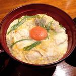 恵比寿 鶏味座 - 山椒親子丼