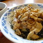 ちゃあしゅうや亀王 - 料理写真:肉黒醤油つけ麺(あご節、1.5玉)