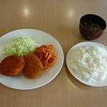 フェルマータ - コロッケ定食