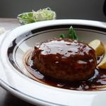 フェルマータ - 料理写真:煮込みハンバーグ