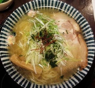 めんや 薫寿 - 薫寿そば730円/平成27年9月