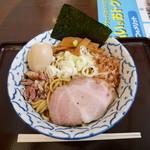 兎に角アナザーリーフ - 油そば¥730 +燻玉¥100