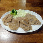 旬菜厨房 恵比須屋 - 豚生姜焼き単品520円