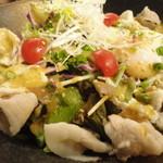 チキンフィート - 豚しゃぶサラダ