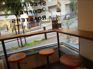 バン コーヒー バイロン ベイ - 狭いスペースを上手に利用