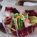 ピッツァ サルヴァトーレ クオモ 四谷 - 野菜のバーニャガウダ