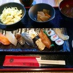 41838095 - 寿司定食 750円(税込)