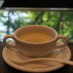 キッチン イトウ スタイル - 季節野菜のスープ(S) 600円