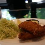 キッチン イトウ スタイル - アジフライ フキノトウのタルタルソース(ライス付) 1,700円