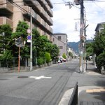 Daidokochou - この交差点を右折します
