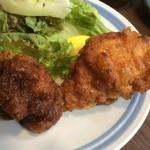 福ふく家族 - 揚げ過ぎのヒドイ鶏の唐揚げ