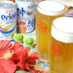 沖縄音楽酒場 世果報 - やっぱりオリオンビールでしょ!