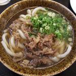 山本製麺 - 肉うどん 小