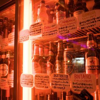 世界のビール♪80種類以上!!