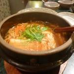 煉瓦屋 - 豆腐チゲアップ