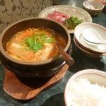 煉瓦屋 - 豆腐チゲ 800円