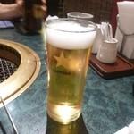 煉瓦屋 - 瓶ビール・・黒ラベル540円