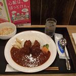 VERDE - 白身魚フライトッピング付き辛口カレー
