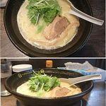 麺の坊 大須晴れ - 鶏白湯ラーメン。麺の坊 大須晴れ(名古屋市)食彩品館.jp撮影