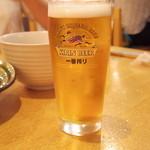 みづき屋 - 生ビール