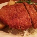 トロケの台所 - ポークカツレツ定食(1150円)