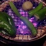 猪口猪口 - 七厘炙り 野菜