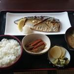 みのり食堂 - 2015/08/25 12:10訪問 本日のおすすめ─       サバ塩焼き定食¥820