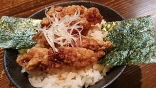 客野製麺所 - ミニパーコー丼