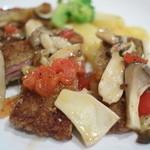 ラ カーサ ディ マルコ - 三元豚のソテー、シャリビンソース