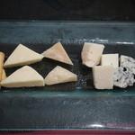 ラ カーサ ディ マルコ - チーズ、パルミジャ、コンテ、ゴルゴンゾーラ