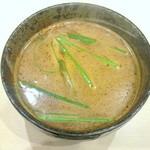 麺乃國 味噌物語 - 辛味噌つけ麺