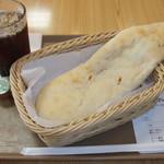 パニッシュ - アイスコーヒーとナンカレー