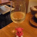 41849499 - 白グラスワイン 600円