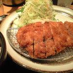 豚菜健美 とこ豚 - ランチ:とんかつロース定食