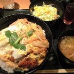 豚菜健美 とこ豚 - ランチ:かつ丼