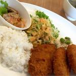 cafe de curry Kojika - コロッケプレートB