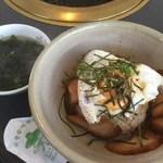 焼肉ソウル - 焼き豚玉子飯