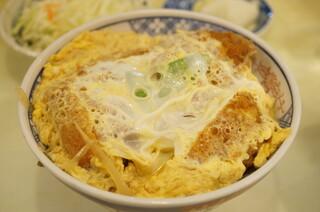 あけぼの - 上かつ丼(1300円)