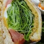 41855152 - ツナサンドウィッチ〔15/9/13撮影〕→野菜たっぷり