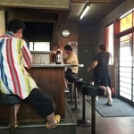 かんちゃん - カウンター席