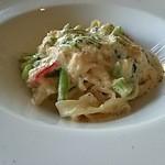 41856853 - パスタ・塩加減も丁度よく!麺とソースが絡みとっても美味しかった